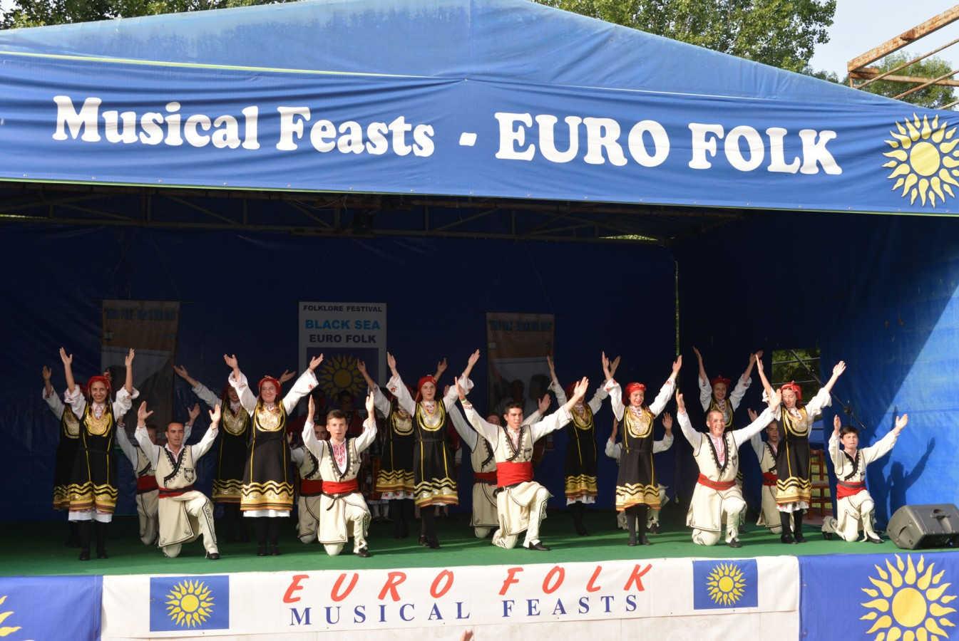 """Международен фолклорен фестивал """"Евро фолк - Черно море 2017"""" - Китен"""